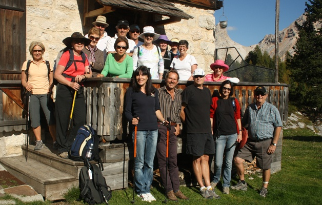 Walking tour in Verona and the Dolomites in autumn 3