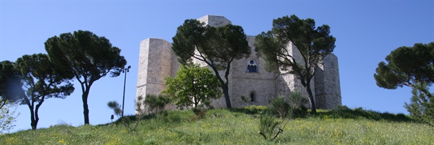Castle  puglia guided walking tour