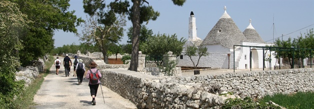 strip trullo  puglia guided walking tour