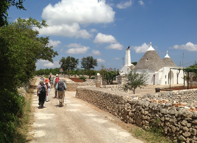 trulli  puglia guided walking tour