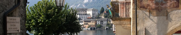 orta piedmont walking tour
