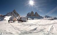 The Hidden Italy Winter Weekend in San Candido:  cross country skiing in the upper Dolomites