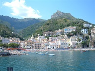 Hidden Italy weekend in August:  Scario, the Portofino of the South