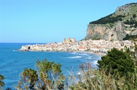 Hidden Italy weekend:  Cefalu, a Norman town with some of the finest beaches in Sicily.