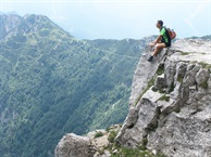 Hidden Italy weekend:  an historical hike in the mountains of Veneto.