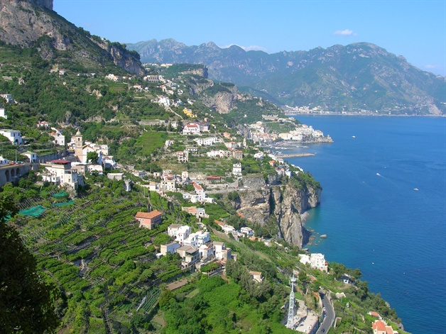 amalfi coast walking tour conca dei marini