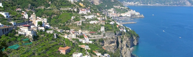 amalfi coast walking tour amalfi view