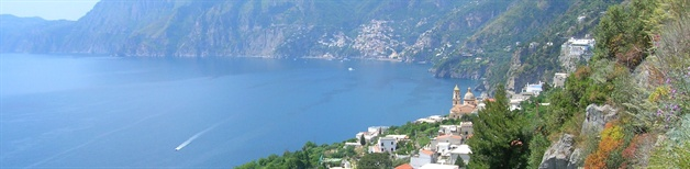 amalfi coast walking tour positano view