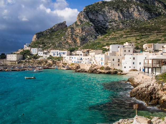 favignana sicily walking tour