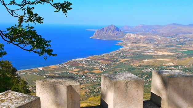 erice sicily walking tour