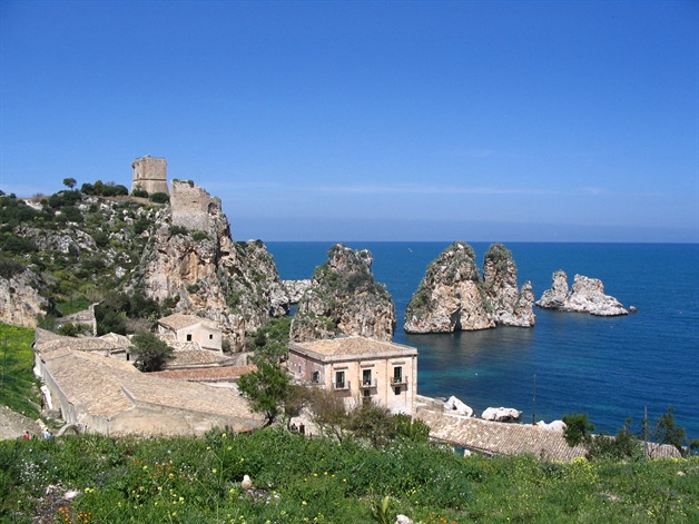 scopello sicily walking tour