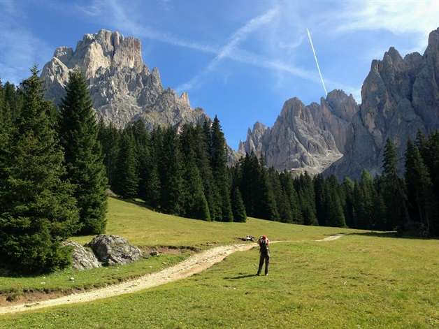 dolomites self-guided walk 1