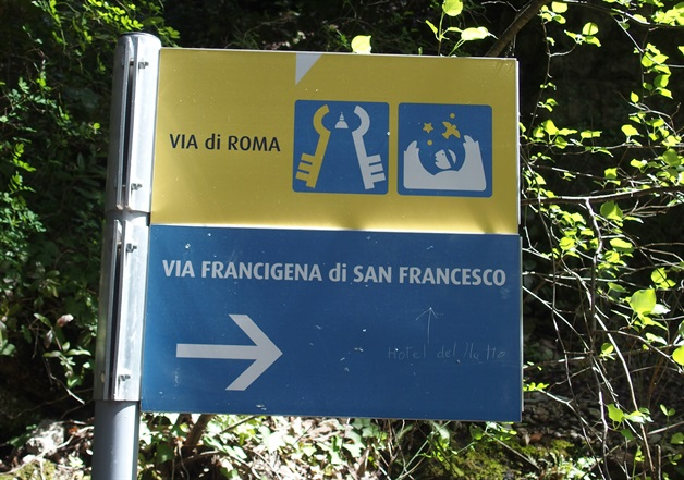Camino Via Francigena Way of St Francis umbria self-guided 2