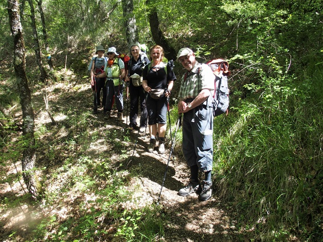 Camino Via Francigena Way of St Francis umbria self-guided 3