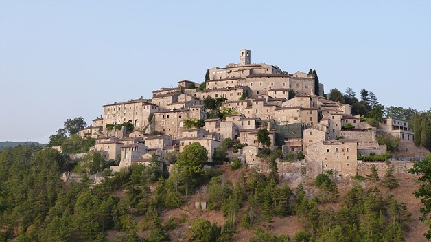 Camino Via Francigena Way of St Francis umbria self-guided 8