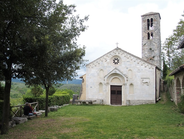 Camino Via Francigena Way of St Francis Lazio self-guided 9