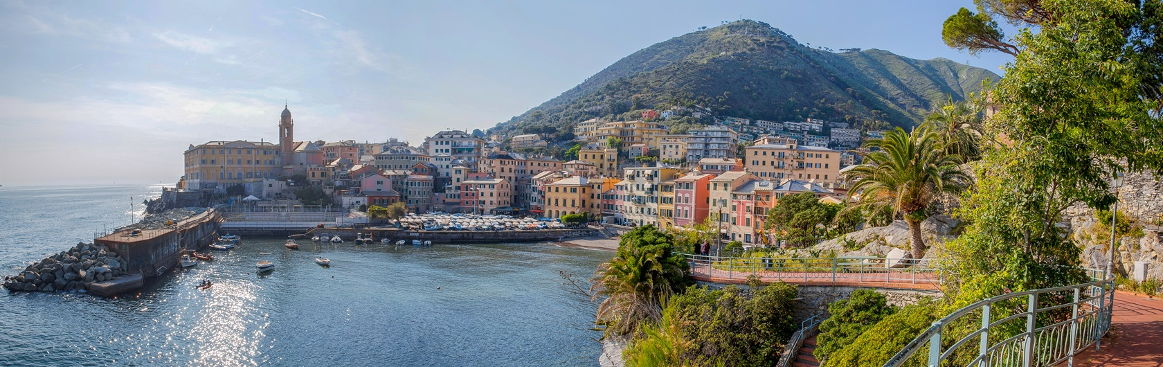 1. Northern Italy: Italian Riviera 1 and 2, a 15-day walk Genoa to Portovenere: Overview