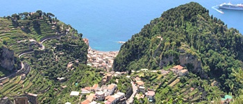 3.  Southern Italy:  Amalfi, walking from Ravello to Positano