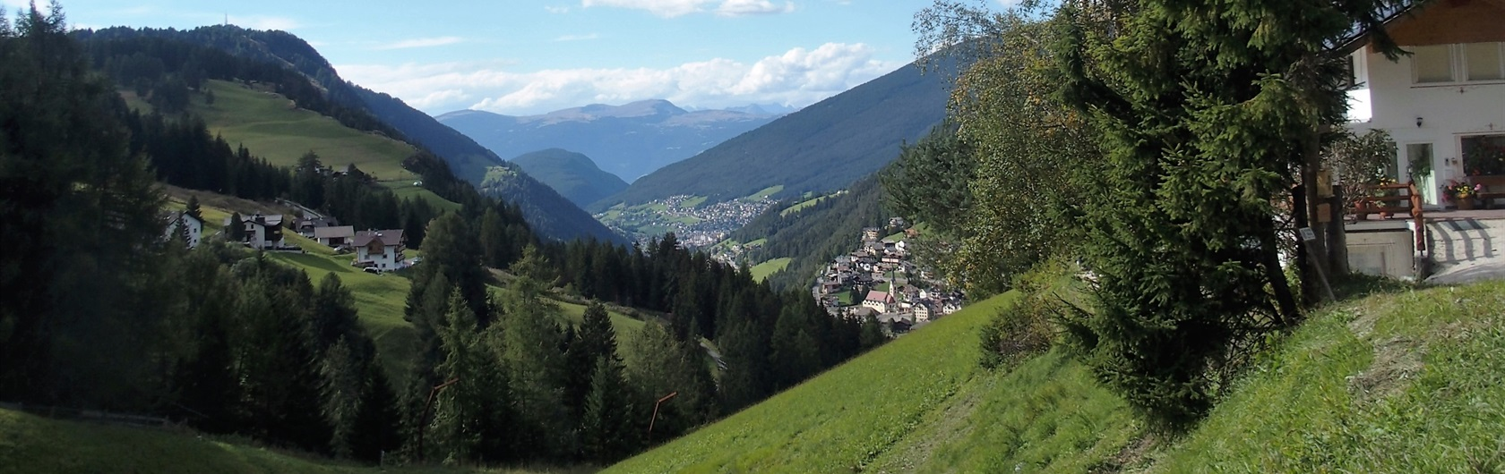 1. Northern Italy: Dolomites, six days walking in the South Tyrol