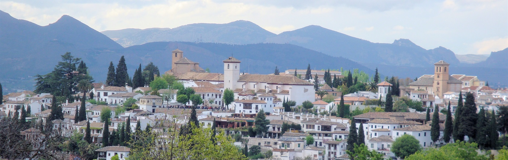 4.  Elsewhere... Andalusia:  Granada and the Sierra Nevada mountains