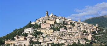 2. Central Italy: Cammino of St Francis Section 1, Umbria 1, Assisi to Spoleto