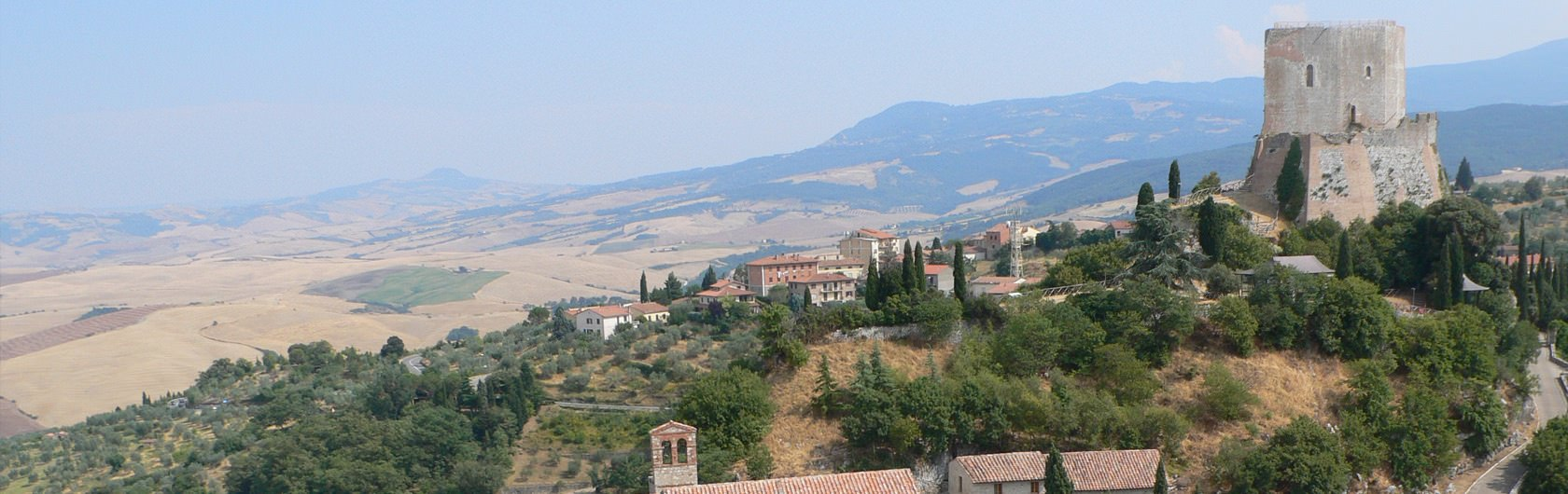 2. Central Italy: Tuscany 2, Mount Amiata in southern Tuscany