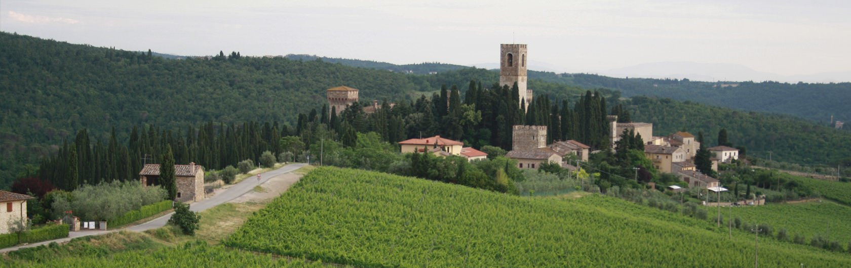 2. Central Italy: Tuscany 2 the Chianti, from Florence to Siena